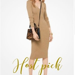Michael Kors Gold Dress